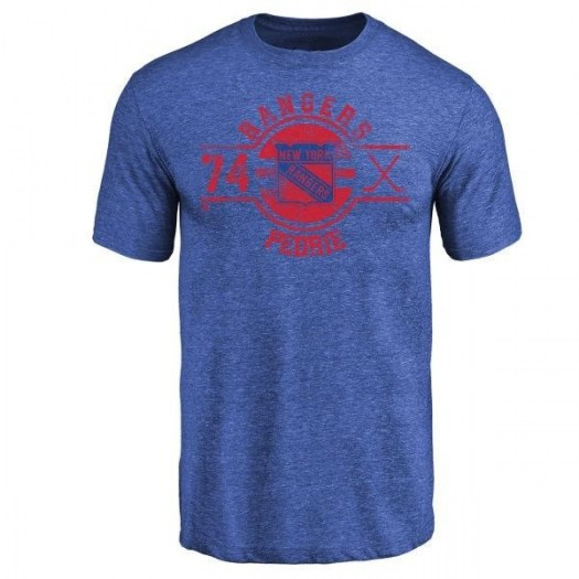 Vince Pedrie New York Rangers Youth Royal Insignia Tri-Blend T-Shirt -